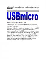 USBmicro docs
